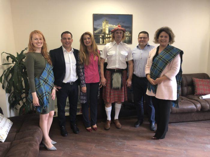 Випускники Единбурзької бізнес-школи на відкритті семестру