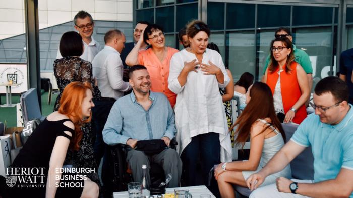 Регулярные встречи Клуба Выпускников Эдинбургской бизнес-школы в Киеве